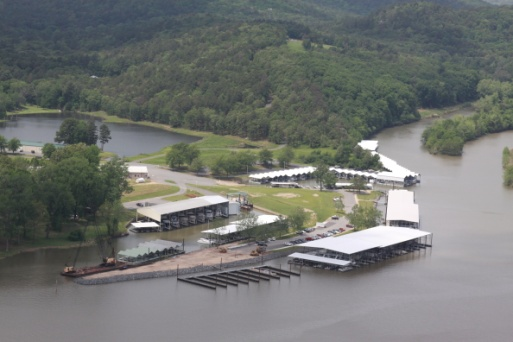 Little Rock Yacht Club Aerial Photo 3